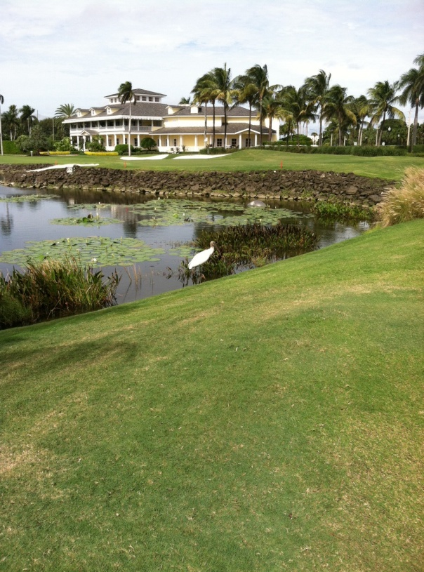 Palm Beach, Florida Breakers Ocean Course...view of clubhouse