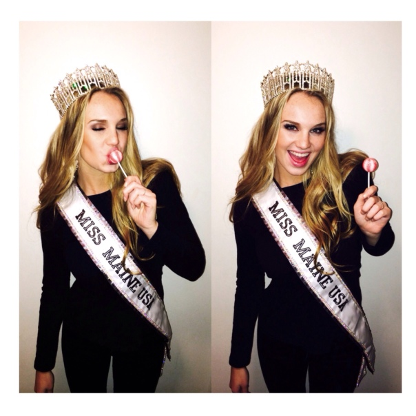 Sammy Dahlborg, Miss Maine USA, Loves Original Gourmet Lollipops!