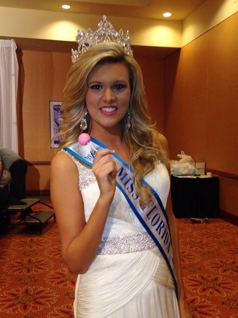 2014 Florida Miss USA Ambassador Sterling Smith loves her Original Gourmet Lollipop