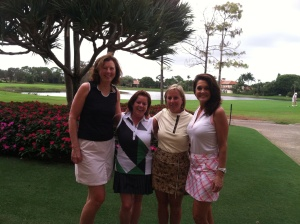 Golf buddies from Haverhill CC, Kay, Maureen, Shelly & Kim