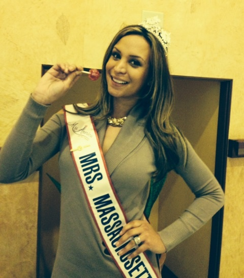 I don't always eat lollipops, but when I do, only an Original Gourmet will do! They are the yummiest treat, especially post pageant Monique Jones-Taylor,  Mrs. Massachusetts America 2014