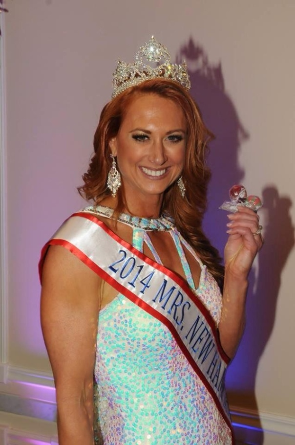 Mrs New Hampshire America, Tonya Fleming Knightly LOVES Original Gourmet Lollipops!!!