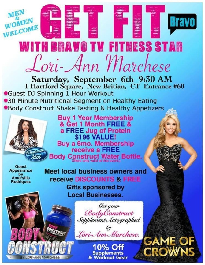 Bravo TV fitness star will be sharing Original Gourmet Lollipops with Pageant Queens and guests at her event
