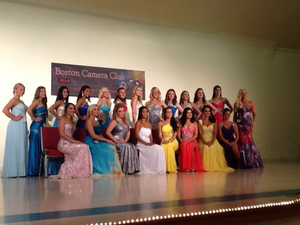 Photo of all the young women who participated
