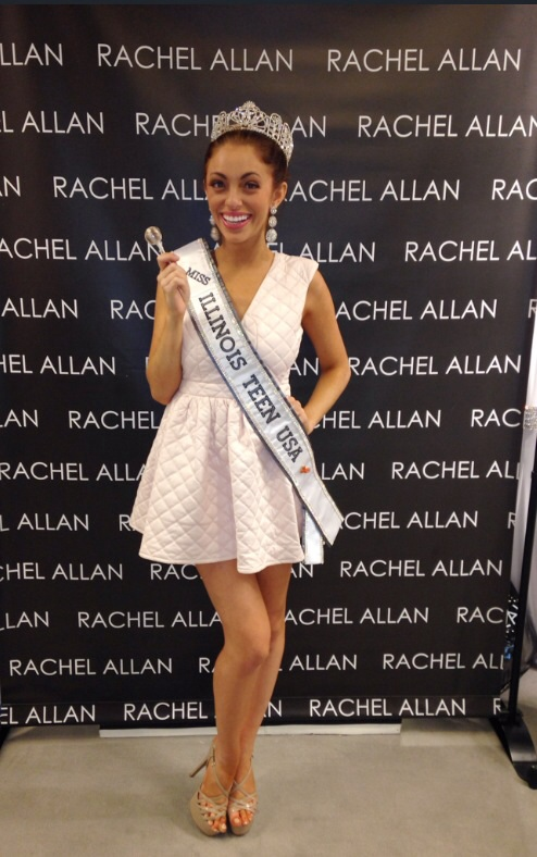 Miss Illinois Teen USA Megan Riesner