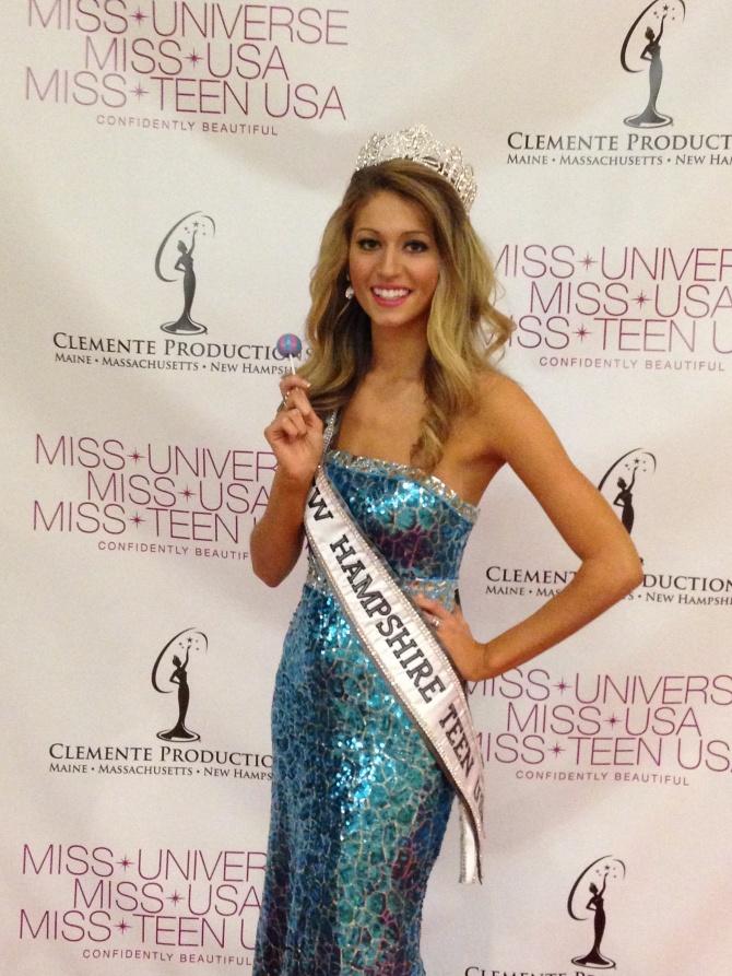 Eleanor Lathram  Miss New Hampshire USA 2015